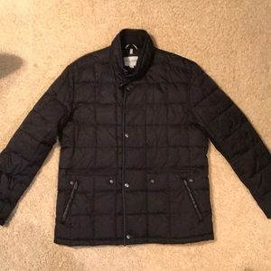 Cole Haan Signature Box-Quilt Puffer Jacket